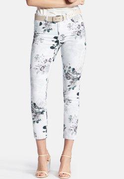 PETER HAHN - BARBARA - Jeans Slim Fit - white/multi