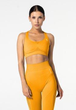 carpatree - PHASE SEAMLESS - Sport BH - yellow