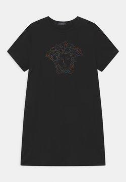 Versace - MEDUSA - Jerseykleid - black/multicolor