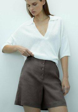Massimo Dutti - Shorts - dark grey