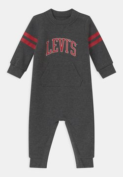 Levi's® - COLLEGIATE COVERALL UNISEX - Jumpsuit - charcoal heather