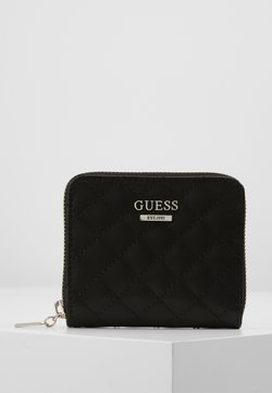 Guess - KAMRYN SMALL ZIP AROUND - Portefeuille - black