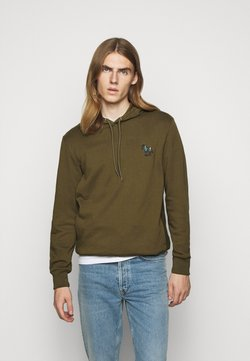 PS Paul Smith - ZEBRA SOPO HOODIE - Kapuzenpullover - khaki