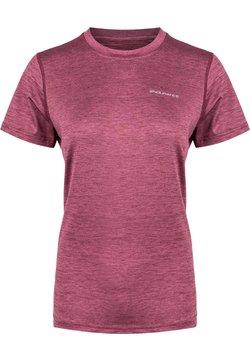 Endurance - MAJE - T-Shirt basic - 4132 tawny port