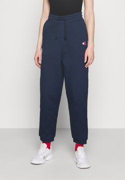 Tommy Jeans - RELAXED BADGE PANT - Jogginghose - twilight navy