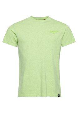Superdry - T-shirt basic - acid lime