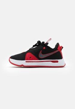 Nike Performance - PG 4 - Basketball shoes - black/university red/white