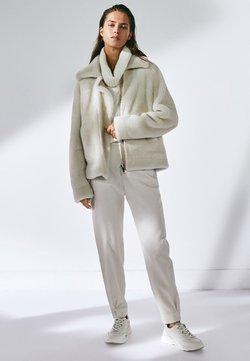 Massimo Dutti - Skinnjacka - white