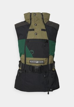 The North Face - STEEP TECH APOGEE VEST - Smanicato - burnt olive green/evergreen/black