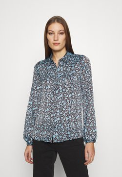 Fabienne Chapot - BLOUSE - Bluse - dark chocolate/ice