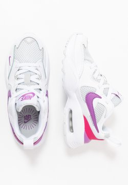 Nike Sportswear - AIR MAX FUSION - Sneakers laag - white/purple/watermelon/grey fog