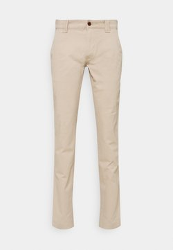 Tommy Jeans - SCANTON PANT - Chinosy - beige