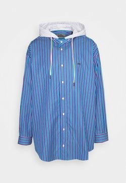 Vivienne Westwood - HOODIE SHIRT - Hemd - blue/purple/white