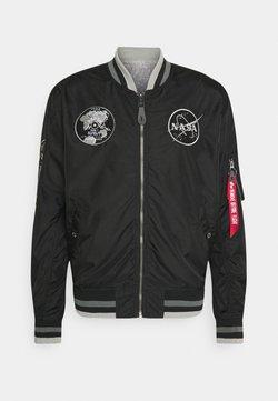Alpha Industries - NASA VOYAGER - Giubbotto Bomber - black