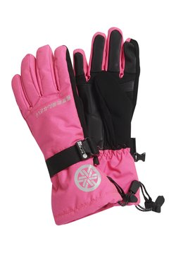 Superdry - ULTIMATE SNOW RESCUE GLOVE - Fingervantar - luminous pink grit