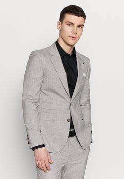Burton Menswear London - STRIPE - Puvuntakki - grey