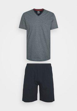 Ceceba - SORTY V NECK SET - Pyjama - blue medium