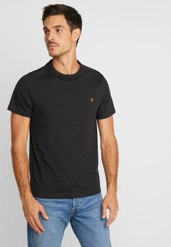 Farah - DENNIS SOLID TEE - T-shirt print - deep black