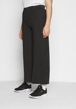 Simply Be - SCUBA TROUSERS - Pantalon classique - black