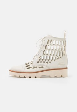 Melvin & Hamilton - SELINA 51 - Bottines à lacets - white/natural/offwhite