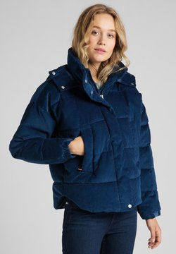Lee - Winterjacke - washed blue