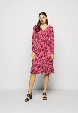 Lauren Ralph Lauren - PRINTED MATTE DRESS - Jerseyklänning - orient red