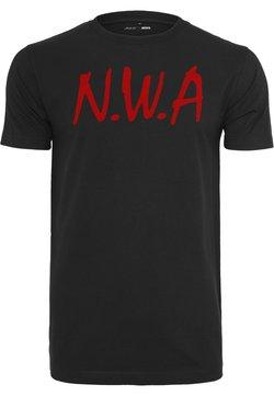 Mister Tee - N.W.A - Camiseta estampada - black
