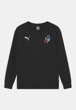 Puma - NEYMAR JR CREATIVITY CREW UNISEX - Sweatshirt - puma black