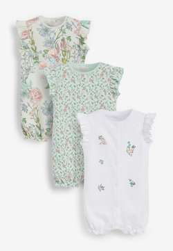 Next - 3 PACK - Jumpsuit - green,white