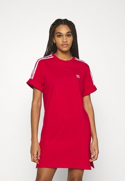 adidas Originals - TEE DRESS - Vestido ligero - scarlet