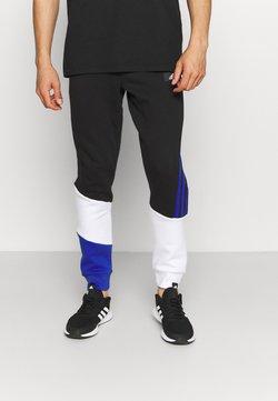 adidas Performance - COLORBLOCK SEASONAL - Jogginghose - black/bold blue