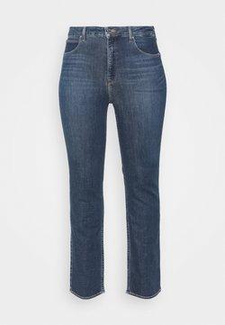 Lee Plus - CLASSIC - Jeans a sigaretta - dark-blue denim