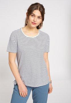 recolution - T-Shirt print - navy / white