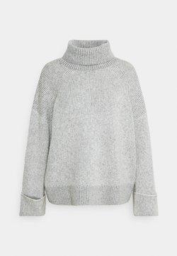 Esprit - ROLLNECK VANIS - Strickpullover - light grey