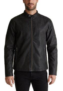 Esprit - Leather jacket - black
