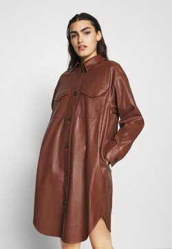 DESIGNERS REMIX - MARIE DRESS - Robe chemise - brown