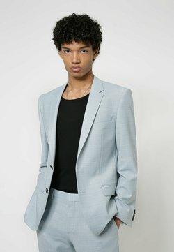 HUGO - Anzug - light blue