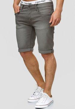 INDICODE JEANS - CUBA CADEN - Jeansshort - dark grey