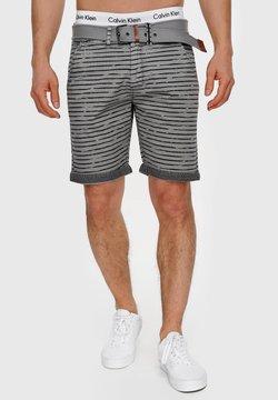 INDICODE JEANS - ARROYO - Shorts - lt grey