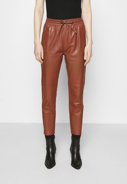 Oakwood - GIFT - Pantalon en cuir - light brown