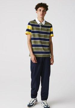 Lacoste - Poloshirt - khaki grün / blau / gelb / weiß