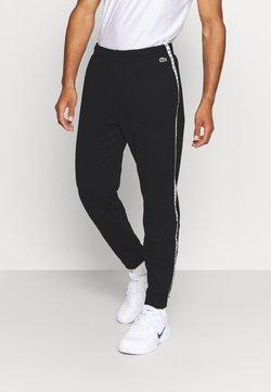 Lacoste Sport - PANT TAPERED - Jogginghose - black