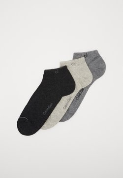 Calvin Klein Underwear - MEN LINER 3 PACK - Füßlinge - grey combo