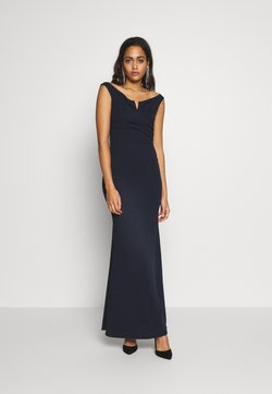 WAL G. - OFF THE SHOULDER DRESS - Occasion wear - navy