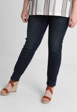 JUNAROSE - by VERO MODA - JRFASHION QUEEN DARK - Slim fit jeans - dark blue denim
