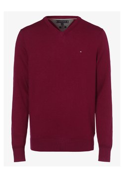 Tommy Hilfiger - Strickpullover - dark red