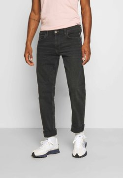 edc by Esprit - Straight leg jeans - black dark wash