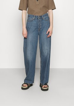 rag & bone - LOGAN LABEL - Jeansy Relaxed Fit - mid to lin