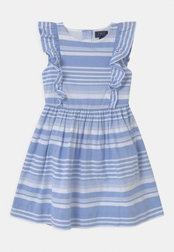 Polo Ralph Lauren - STRIPE - Sukienka koszulowa - harbor island blue/white