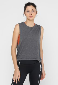 Free People - LOVE TANK - Top - black